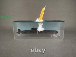 1700 Fully Assembled Model Typhoon-Class Nuclear Submarine Missile Launching