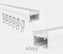 1M-8M Made to Measure Fully Assembled Smart Electric Curtain Rail, Smart Curtain