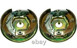 200x50 Knott Trailer Brake Backplate Assembly Fully Built Axle Set Ifor Williams