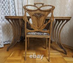 A&O Art Nouveau style vintage chair