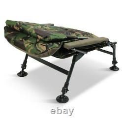 Abode Rip-Stop DPM CAMO Carp Fishing Camping Fleece Armchair Chair