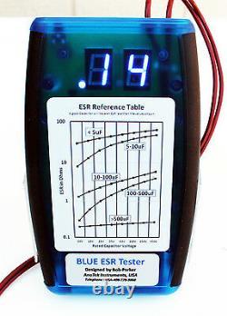 AnaTek Blue ESR/Low Ohms Meter Fully Assembled
