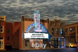 Atlas 66903, O Gauge, Elektra Theater Built-up & Animated Lighting Features