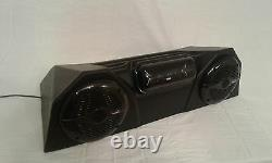 BLUETOOTH ATV Stereo CD FM Radio Complete Fully Assembled Waterproof Sony Boss