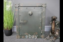 Bedside Cabinet Industrial Rustic Shipping Container Garage Storage Tools Box