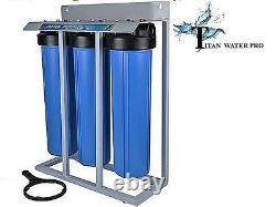 Big Blue Water Filter Fully Assembled High Flow Home or Light Commercial