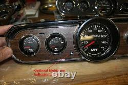 Classic Mustang 65 66 Instruments Electronic Gauge Cluster Bezel Fully Assembled
