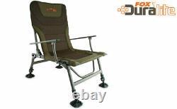 Fox Lightweight Duralite Chair CBC059 Carp Fishing Chair New