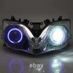 Front Light Fully White HID Assembled Headlight Fit For Honda CBR 600 F4i 2002