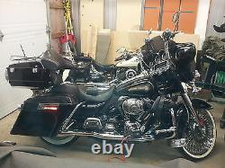 Fully Assembled Stretched Extended Hard Saddlebags 4 HD Harley Davidson Touring