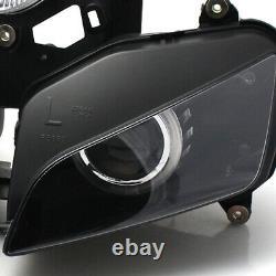 Fully Assembly HID Projector Headlight White Angel Eye For Honda CBR1000RR 04-07