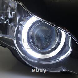 Fully Assembly Headlight HID White Angel Eye Projector for Honda CBR1000RR 08-11