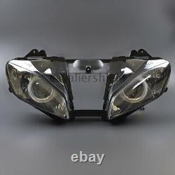Fully Assembly Headlight Projector Blue Angel Eyes Kit For Yamaha YZF R6 2006-07