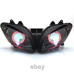 Halo Red Eyes Fully Assembly Projector HID Headlight For Yamaha YZF-R1 2002-2003