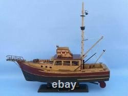 Hampton Nautical Jaws Orca Model Fishing Boat Fully Assembled (Not a Kit)