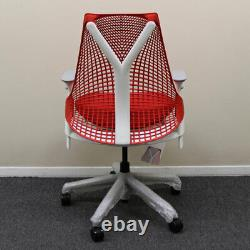 Herman Miller Sayl Chair, Red Back with Red Seat Showroom Model