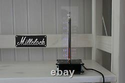 In-13 Nixie Tube Thermometer Nixietherm Fully Assembled Rgb Led Black Enclosure