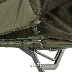 JRC Extreme TX2 Sleep System Wide NEW Carp Fishing Bedchair 5 Season System
