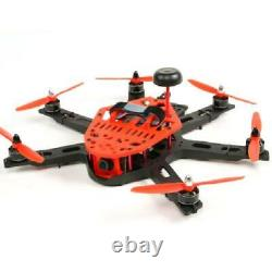 KingKong 300 Hexacopter FPV Drone Fully Assembled with FPV Components (Red) PNF