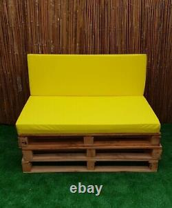 Kosipad Pallet Seating Garden Furniture HD Foam Cushions Water Resistant Covers