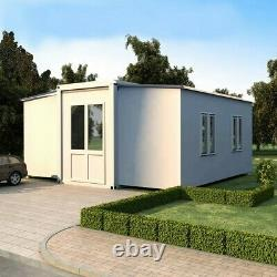 LARGE EXPANDABLE HOUSE Butterfly Prefab House, Fully Assembled, 57 SQM-614SQFT
