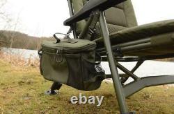New Solar Tackle SP C-Tech Recliner Low Chair CH04 Carp Fishing Setup