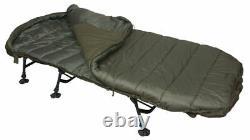 New Sonik SK-TEK 4 Season Sleep System Bedchair EC0001 Carp Fishing