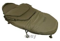 New Trakker Levelite Oval Bed Sleeping System v2 Bedchair 217504 Carp Fishing