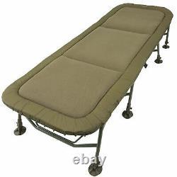 New! Trakker RLX 8 Leg Bedchair 217109