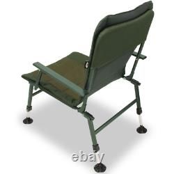 Ngt Xpr Fishing Chair Carp Chair With Arm Rests Extendable Mud Feet Uk Stock