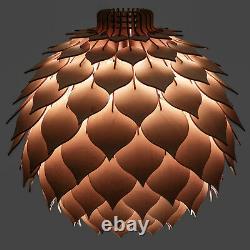 Pendant Lighting / Wood Lamp / Wood Ceiling Light / Pendant Light Art Deco Lamp