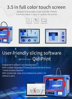 QIDI TECH X-ONE2 FDM 3D Printer Fully Metal 3.5 Touch screen Heat Bed-Assembled