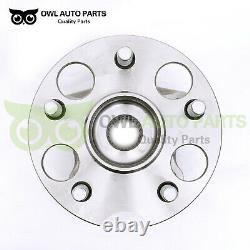 Rear Wheel Bearing & Hub Pair 4WD/AWD for 04-13 Toyota Highlander Venza 512284