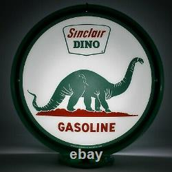 SINCLAIR DINO Wrinkly 13.5 Gas Pump Globe SHIPS FULLY ASSEMBLED! MADE IN USA