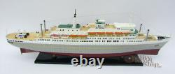 SS Rotterdam 36 Holland America Cruise Ship Model Fully Assembled