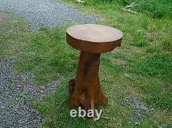 Teak root table stool side table plant stand jardinere stand solid teak root