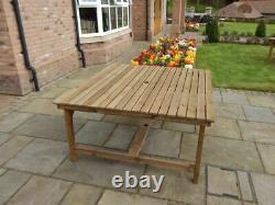 Wooden Garden Furniture 5ft Square Table Delivered Fully Assembled